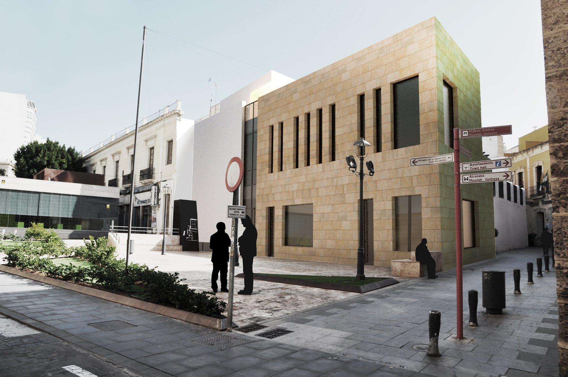 Concurso edificio de servicios Almería. Arquitectura Almeria.