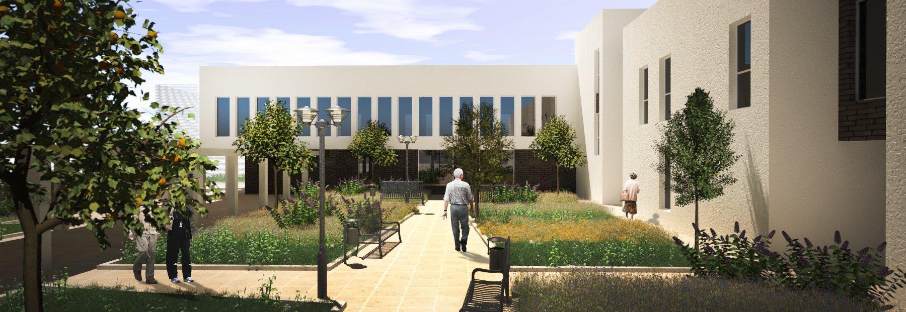 Concurso residencia de ancianos Almería. Arquitectura Almeria.