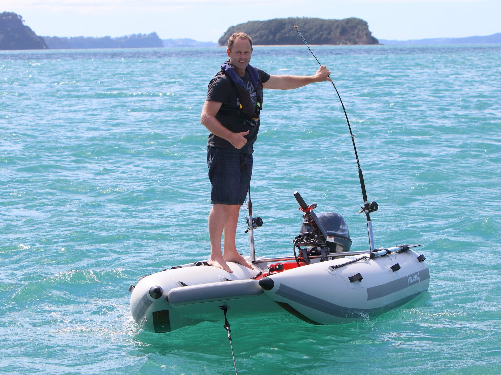 Inflatable Boats for Fishing, Diving & Exploring by Takacat