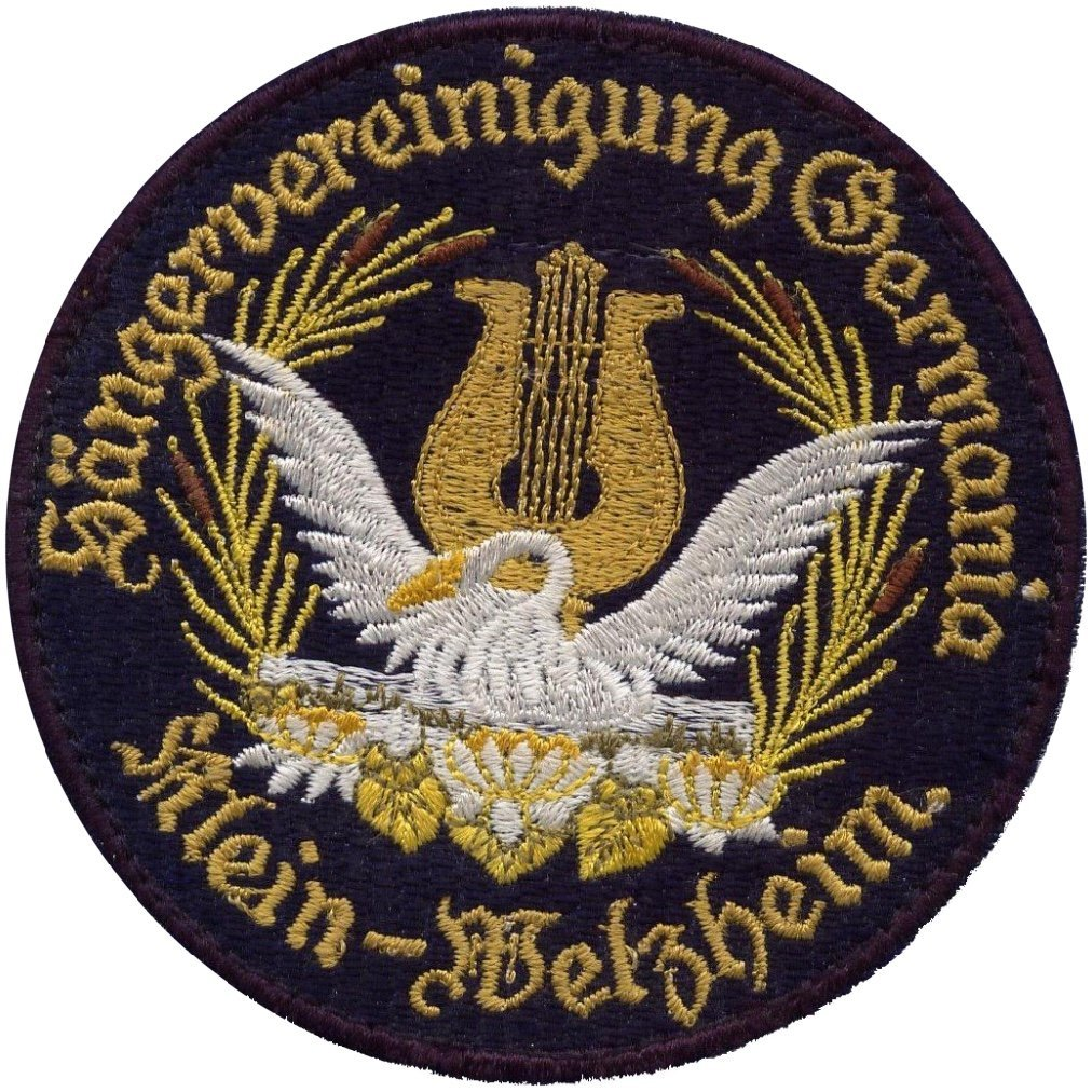 Logo der Sängervereinigung Germania 1895 e.V. Klein-Welzheim