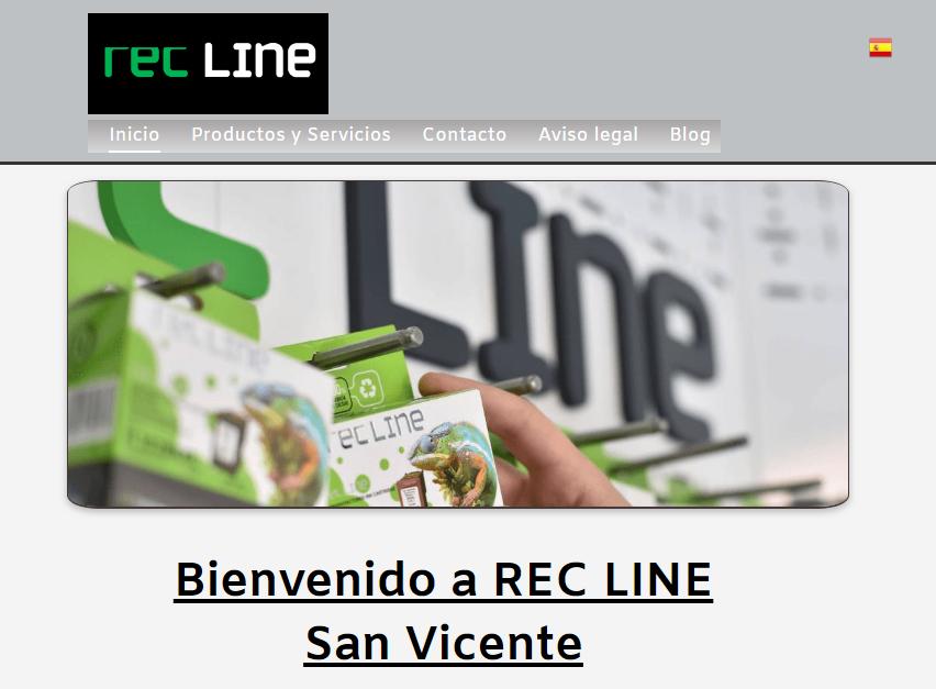 REC LINE - San Vicente  Tinta-tóner para impresoras