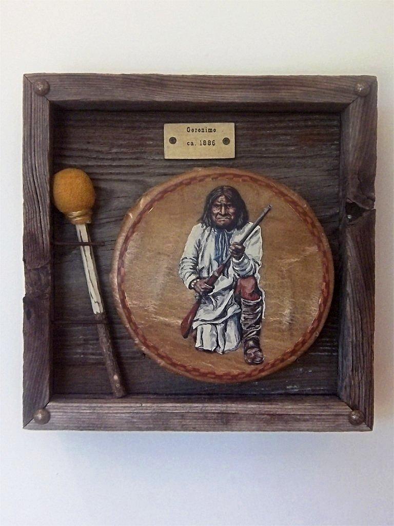 Geronimo painting by Stu Braks