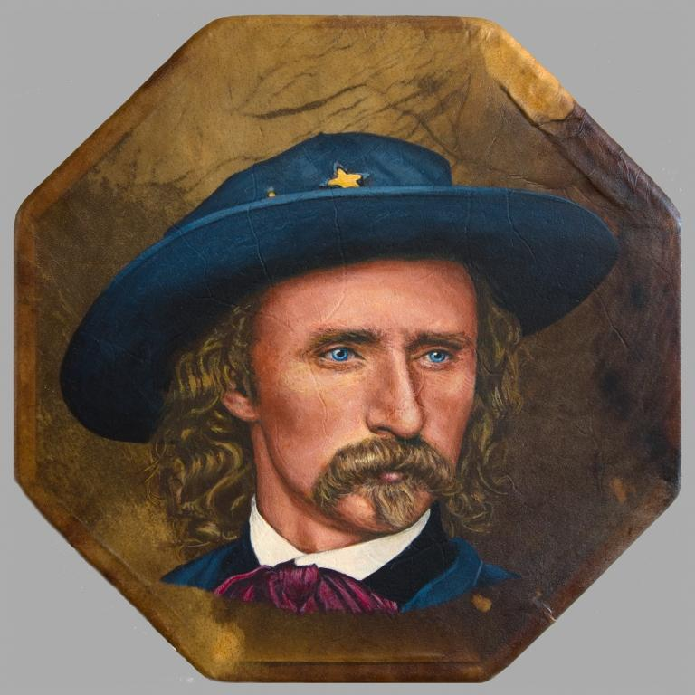 Custer painting by Stu Braks