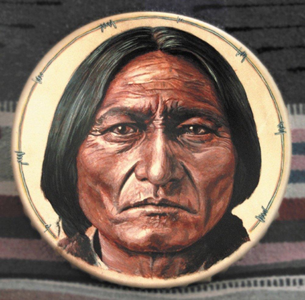 Painted Drum by Stu Braks