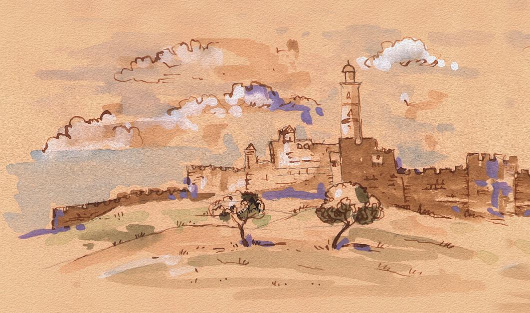 Tower of David, Old City of Jerusalem - Bat Mitzvah in Israel