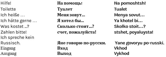Kennenlernen russisch