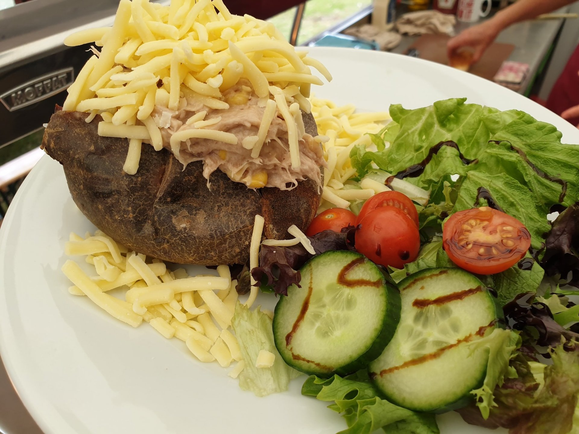 Oven Baked Jacket Potato