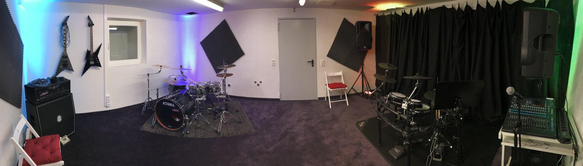 Proberaum bei Recording Sylt in Westerland