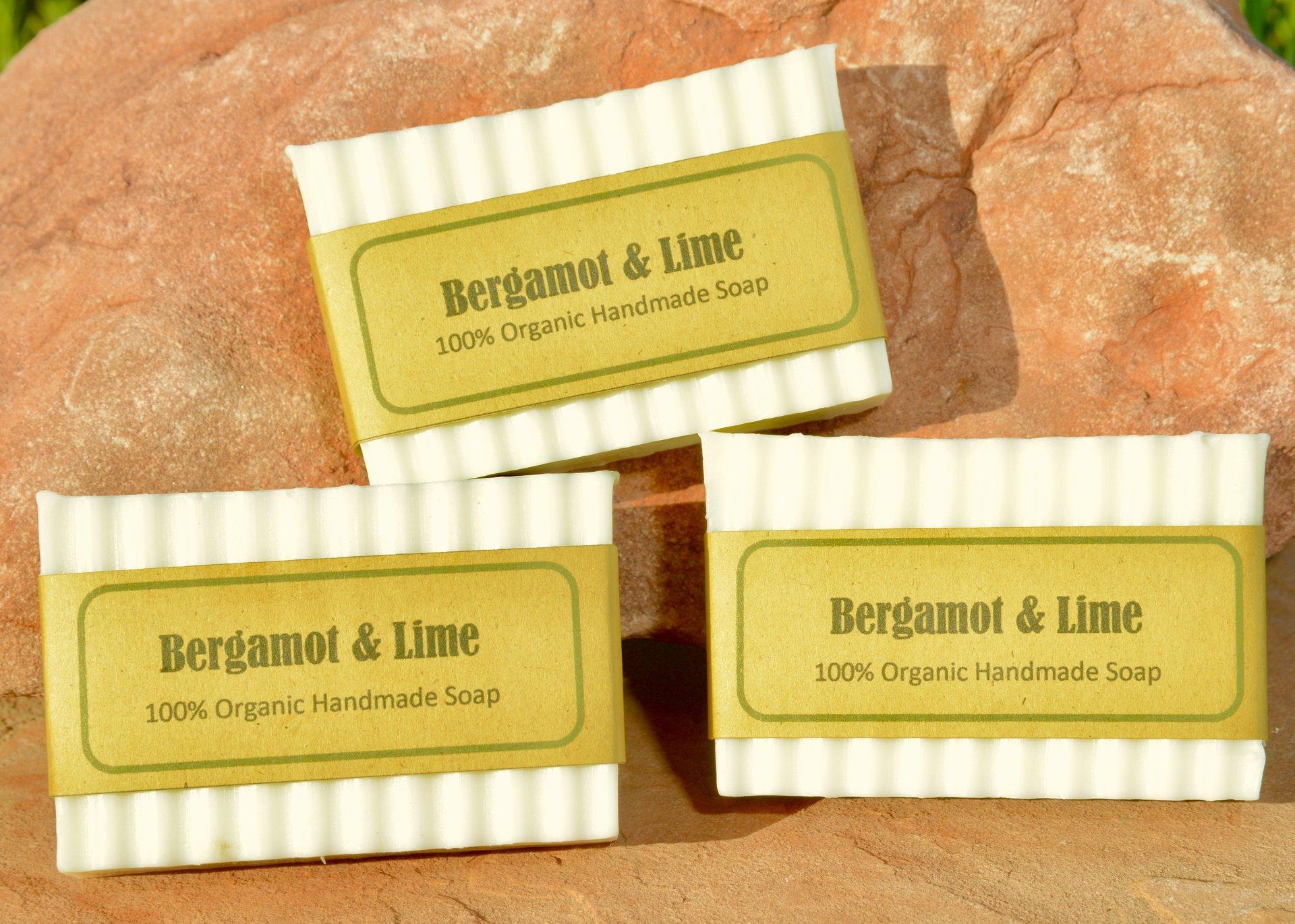 Bregamot and Lime organic soap