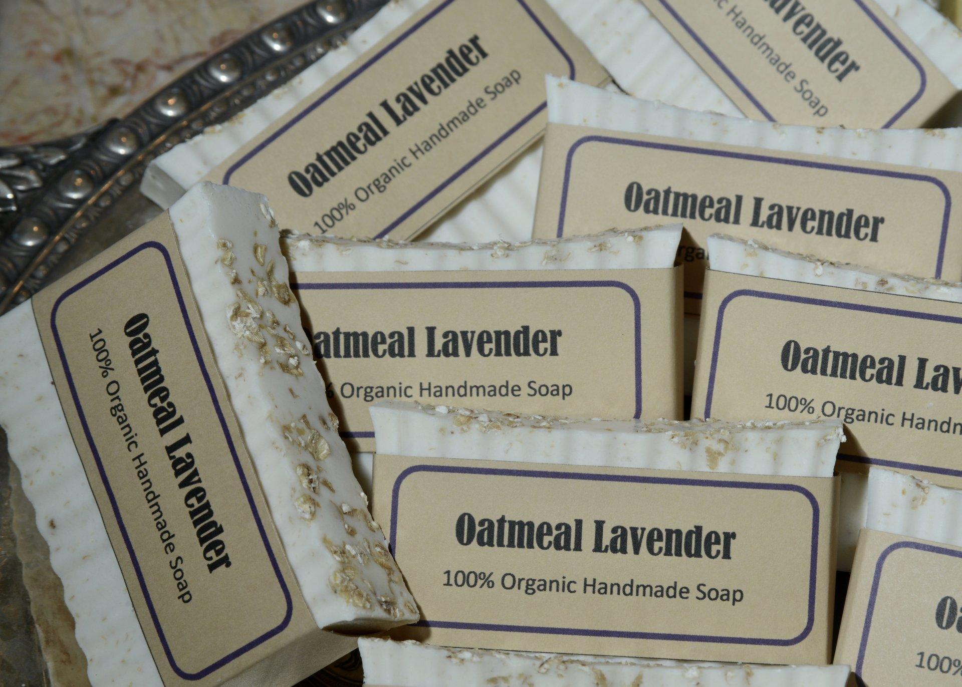 Lavender Oatmeal organic soap