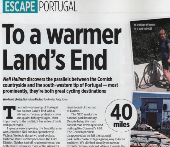 Bike Article Algarve