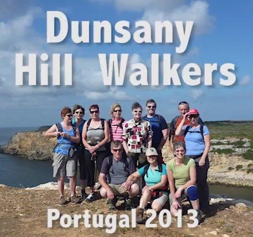 Dunsany Hill Walkers Algarve trip to Aqua Ventura