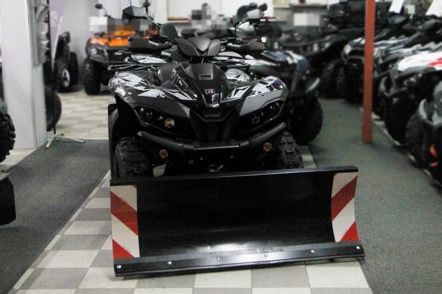 Ganz und zu Extrem ATV im Winterdienst @TW_87