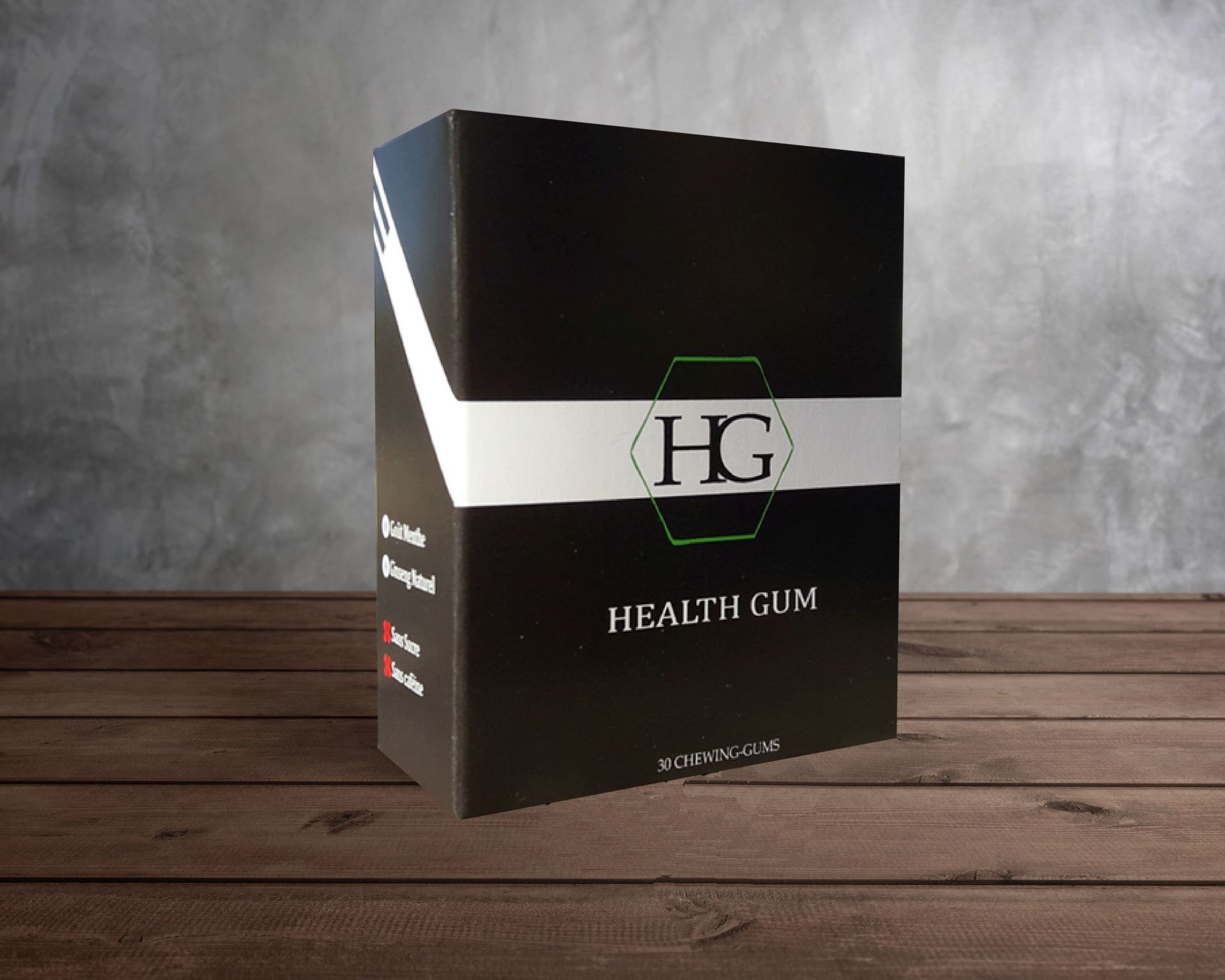 Health-Gum, chewing-gum énergisant