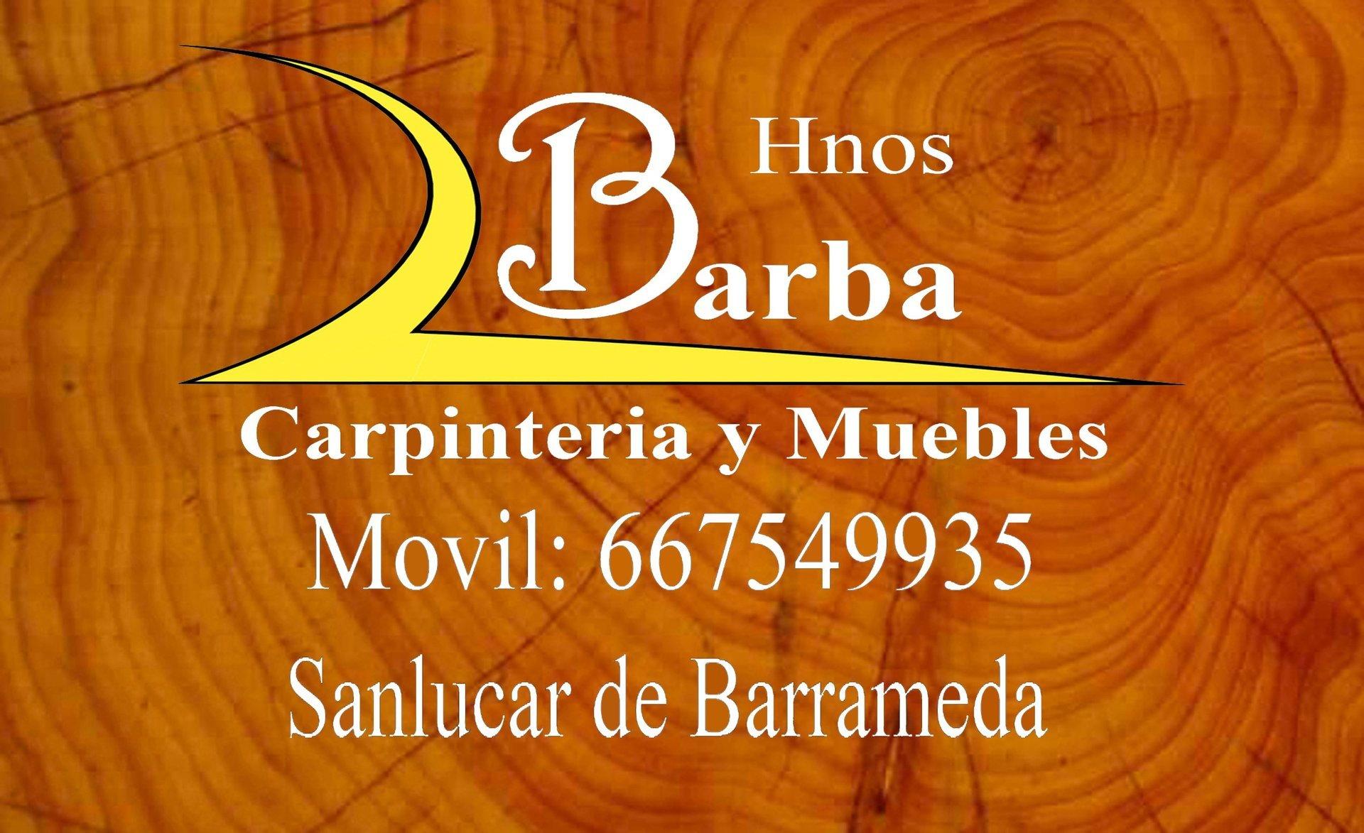 Carpinteria Y Muebles Hermanos Barba # Muebles Caoba Sanlucar