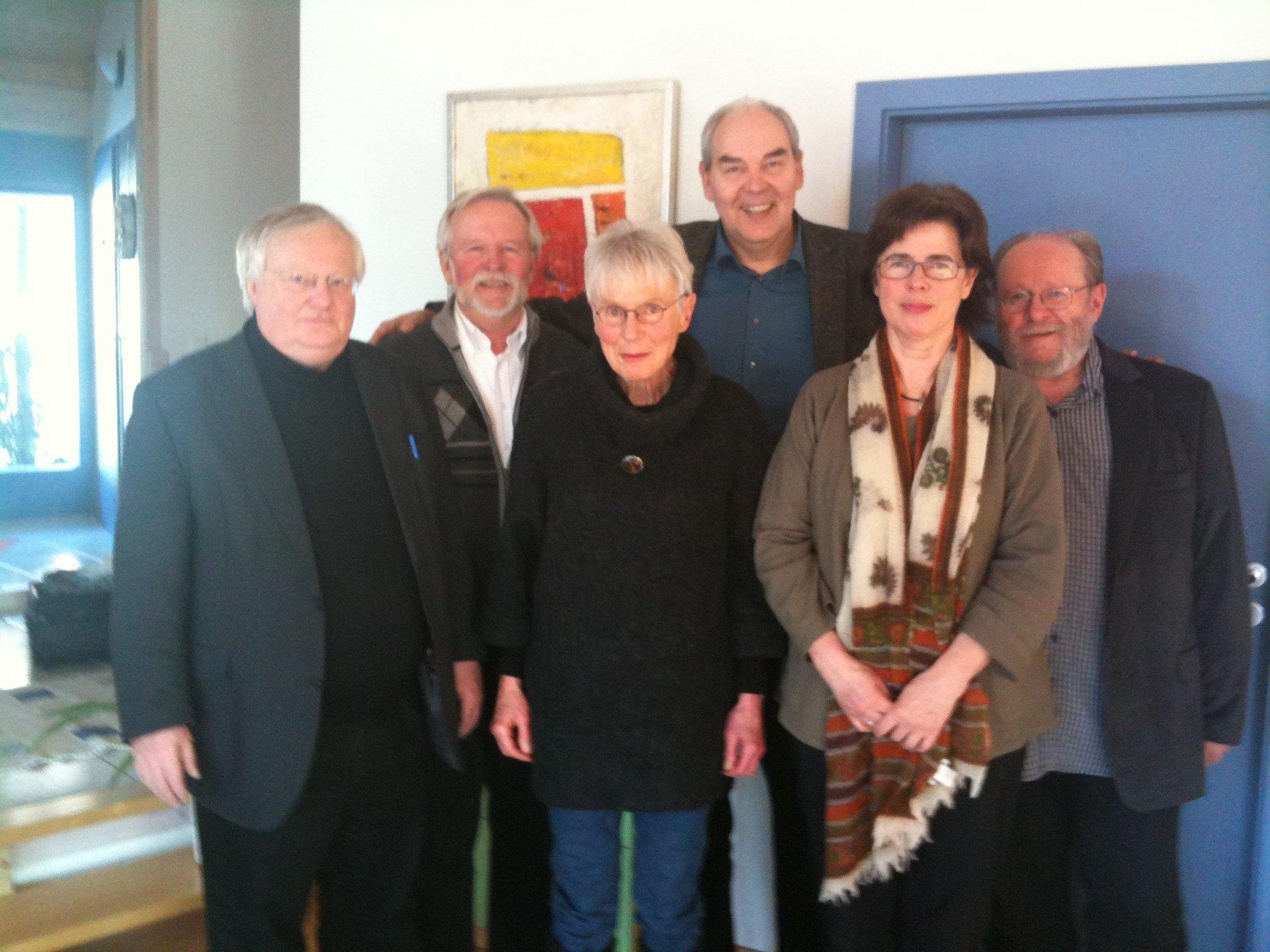 IGPP Vorstand 2012 Gruppenbild