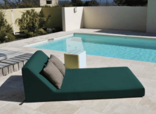 matelas exterieur sur mesure d perlant impermeable 100 outdoor. Black Bedroom Furniture Sets. Home Design Ideas