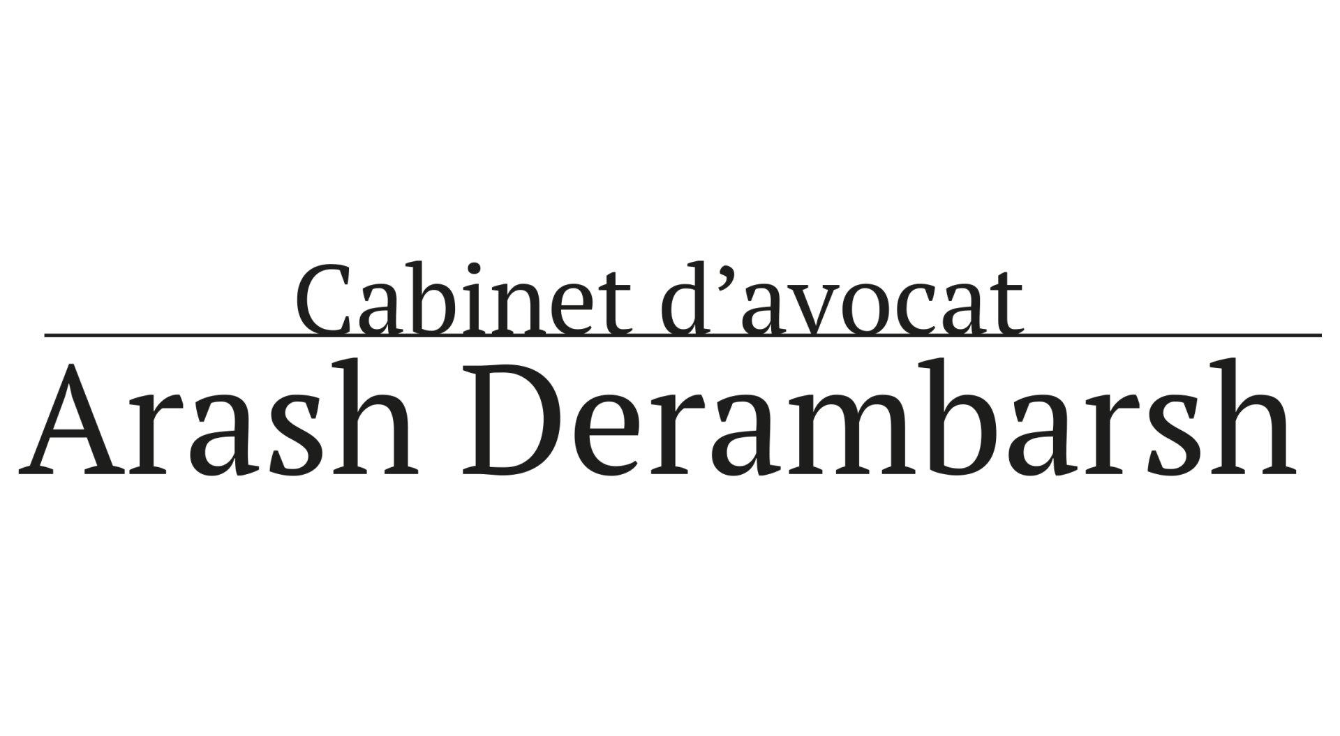 Arash Derambarsh Avocat
