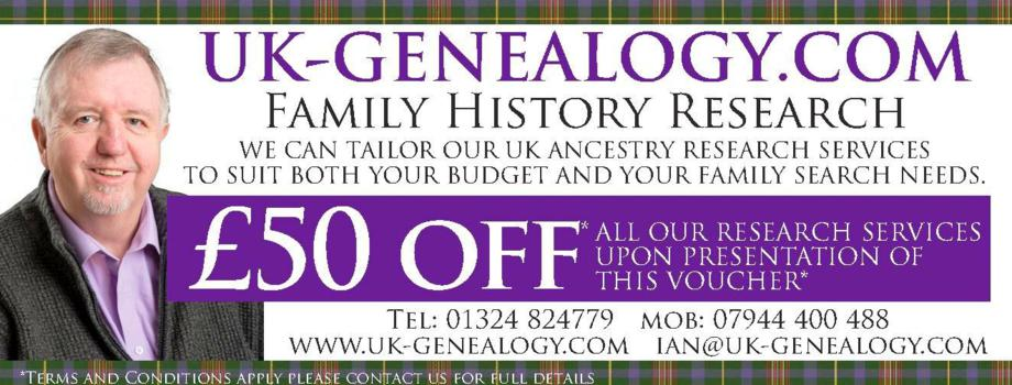 Free Voucher @uk genealogy com