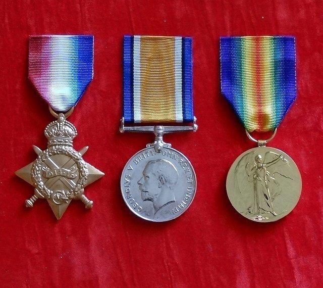 1WW Medals @uk genealogy.com