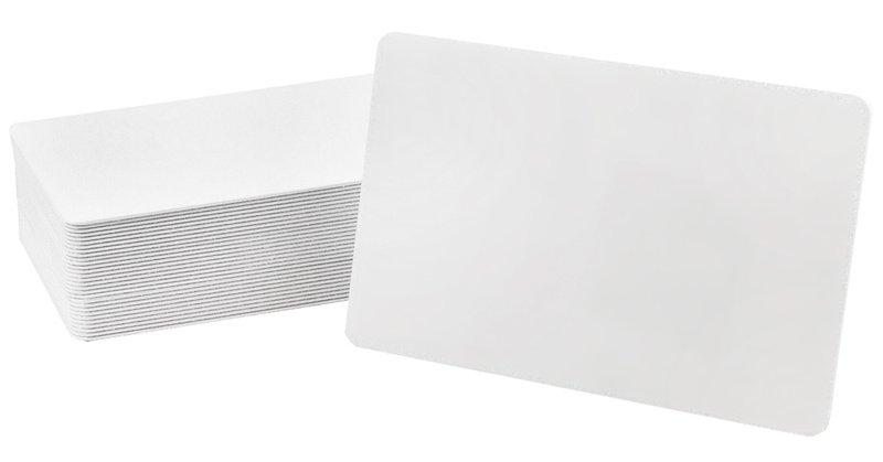 Karten, ZXP 1er Serie, ZXP 3er Serie, Zebra Premier PVC, weiß, 50 mil