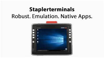 Staplerterminals