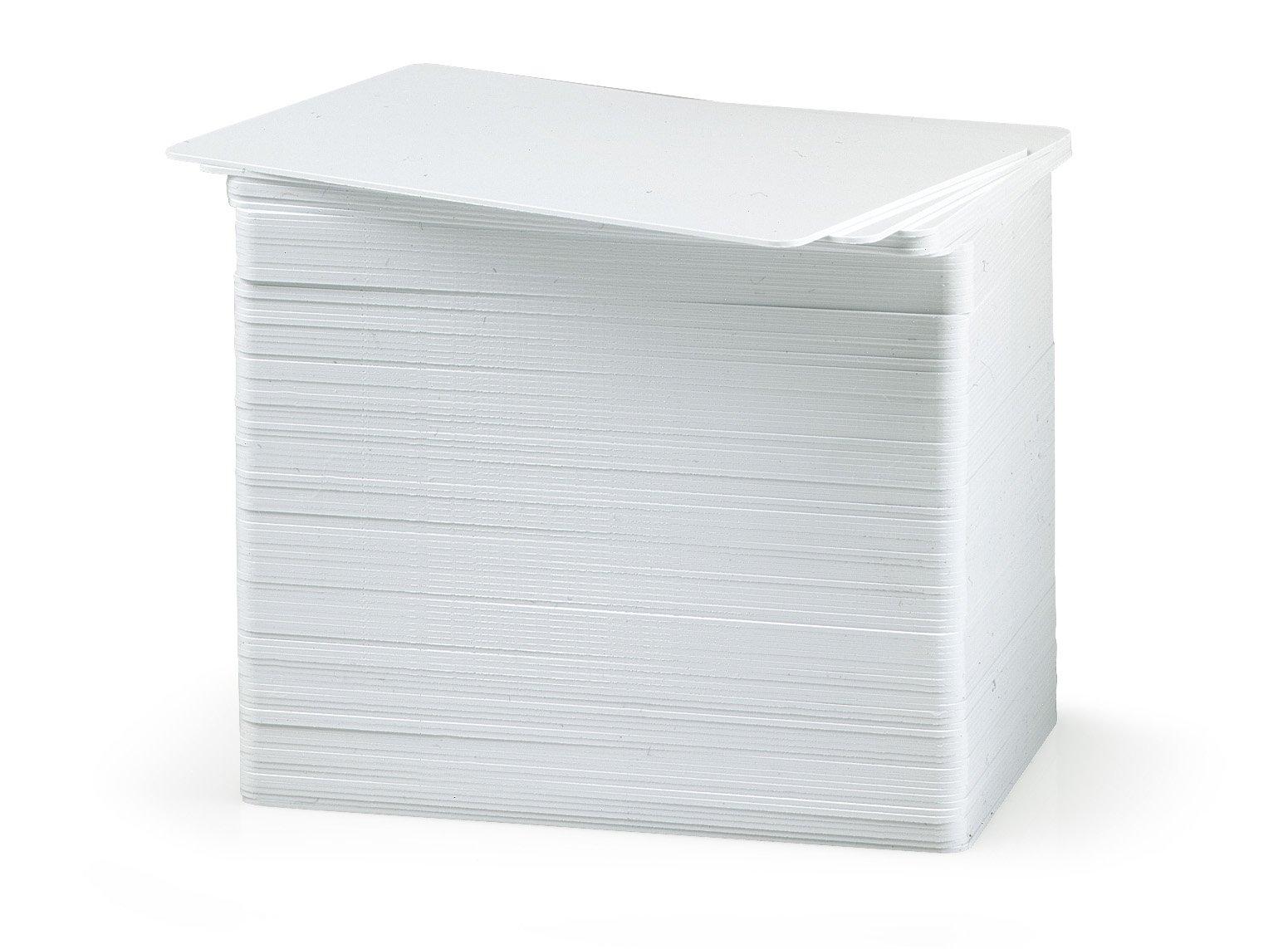 Karten, ZXP 1er Serie, ZXP 3er Serie, Zebra Premier PVC, weiß, 30 mil