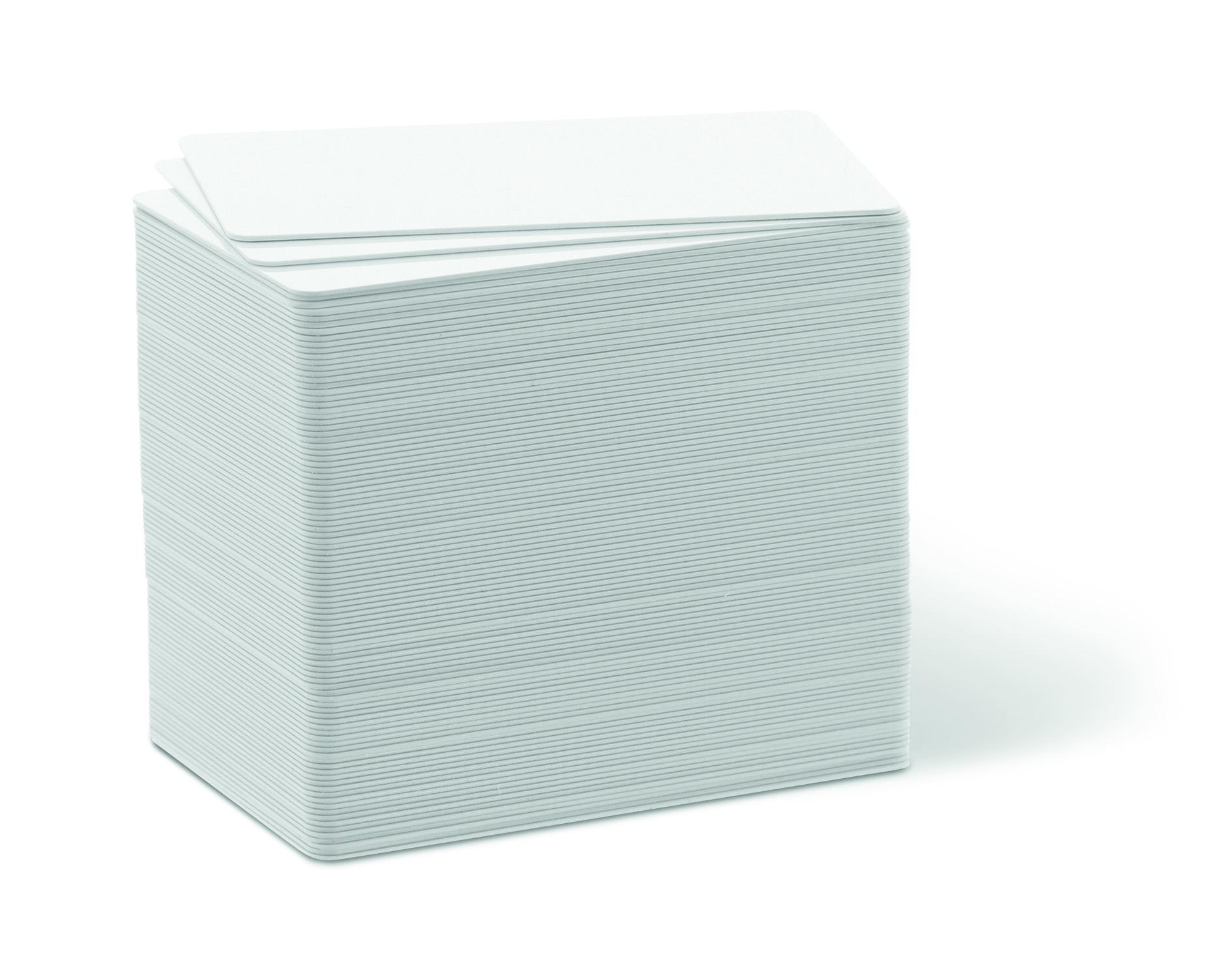 Karten, ZXP 1er Serie, ZXP 3er Serie, Zebra Premier PVC, weiß, 15 mil