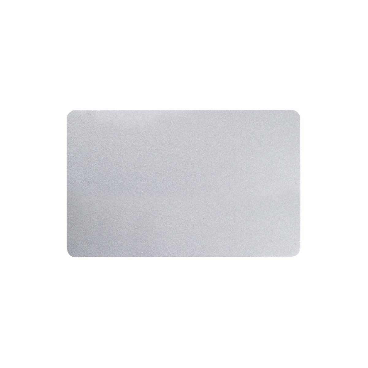 Karten, Zebra Premier Colour PVC, silber metallic, 30 mil