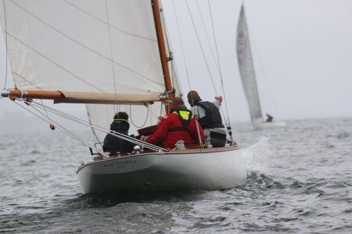 Racing a classic 7-Metre yacht