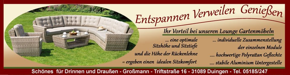 gartenm bel loungem bel ideale sitzh he individuell zusammenstellen. Black Bedroom Furniture Sets. Home Design Ideas