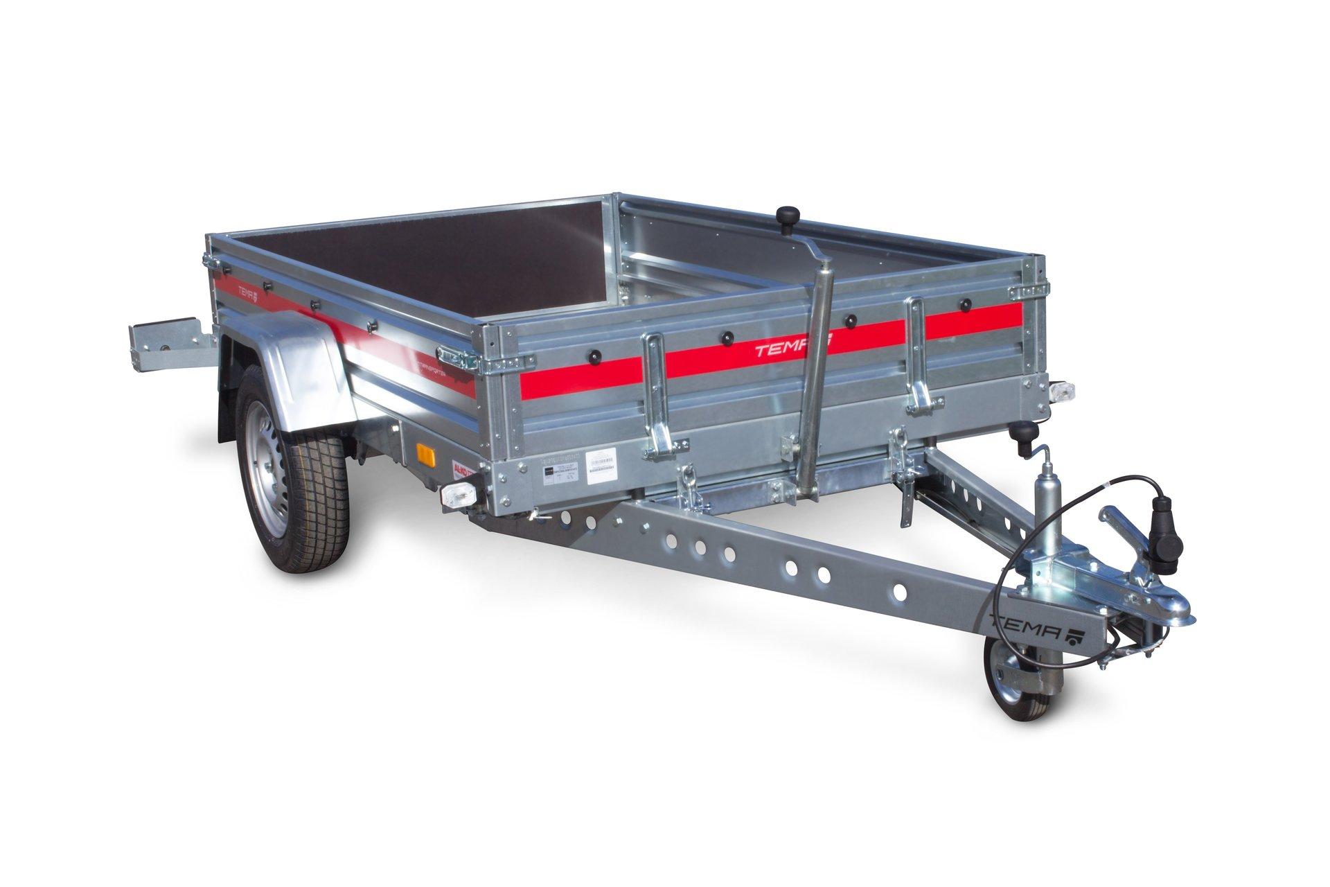 transportanh nger temared f r klein pkw quad motorrad. Black Bedroom Furniture Sets. Home Design Ideas