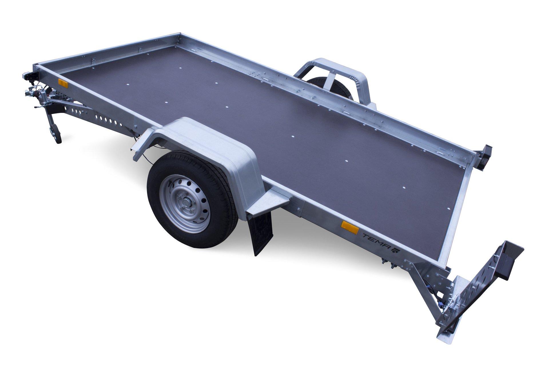 transportanh nger temared f r klein pkw quad motorrad kleintraktor. Black Bedroom Furniture Sets. Home Design Ideas