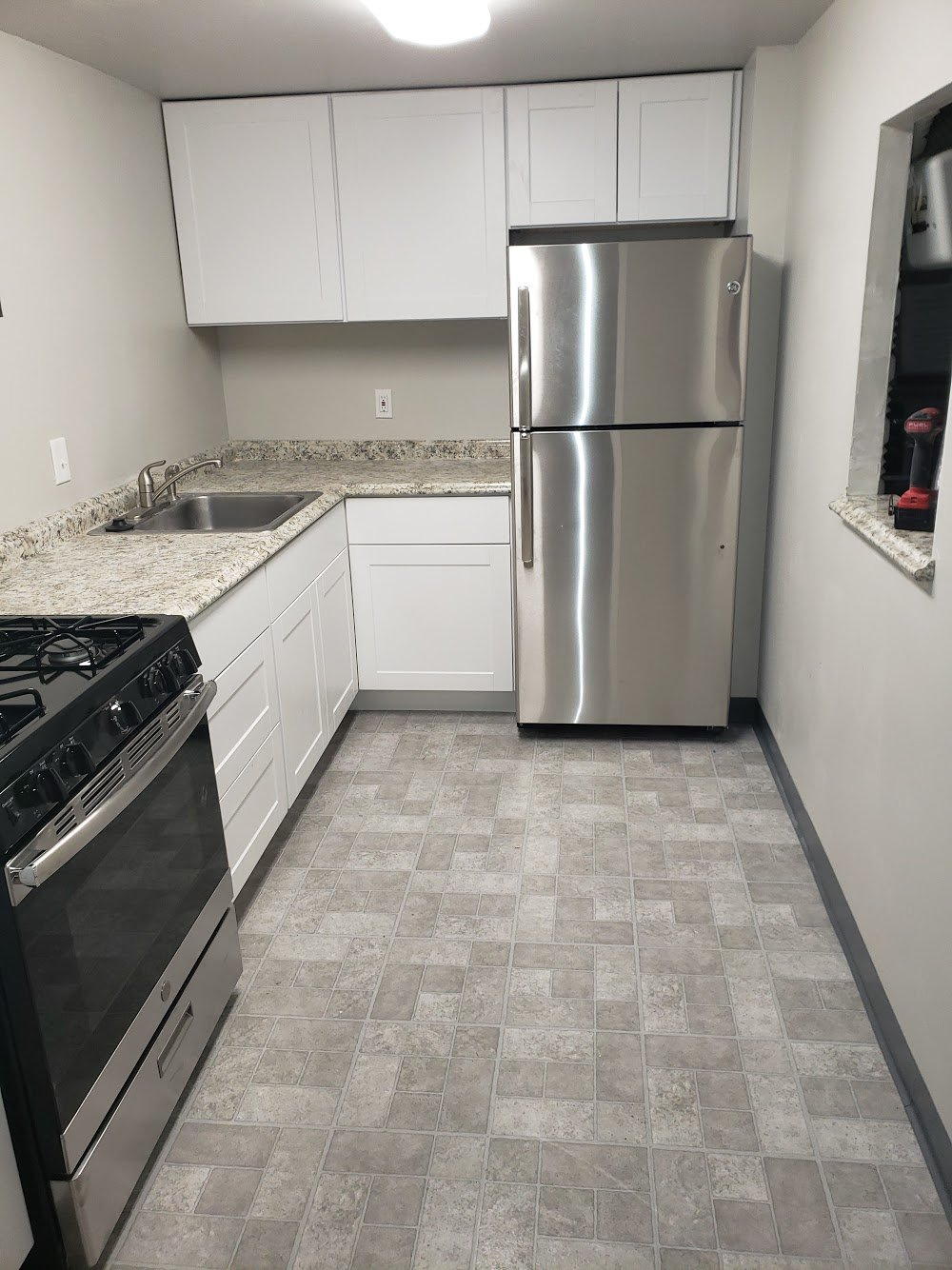 Compact Kitchen Remodel In Jenkintown Condo
