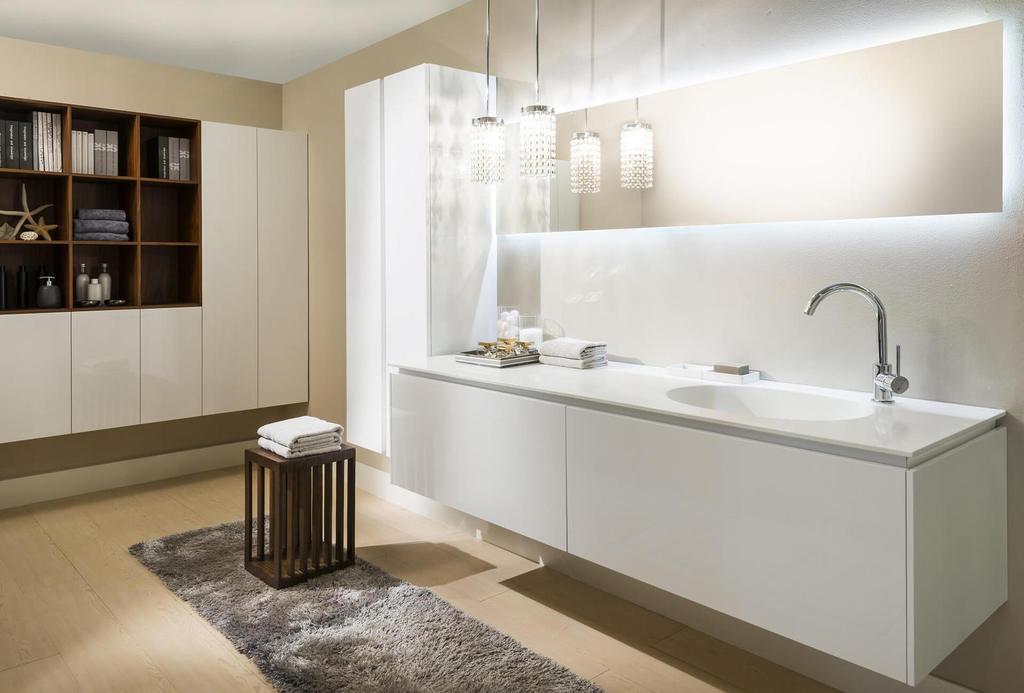 Piani per cucina e bagno in Corian - Ottavio snc arredamenti