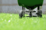 Lawn Treatment Machine