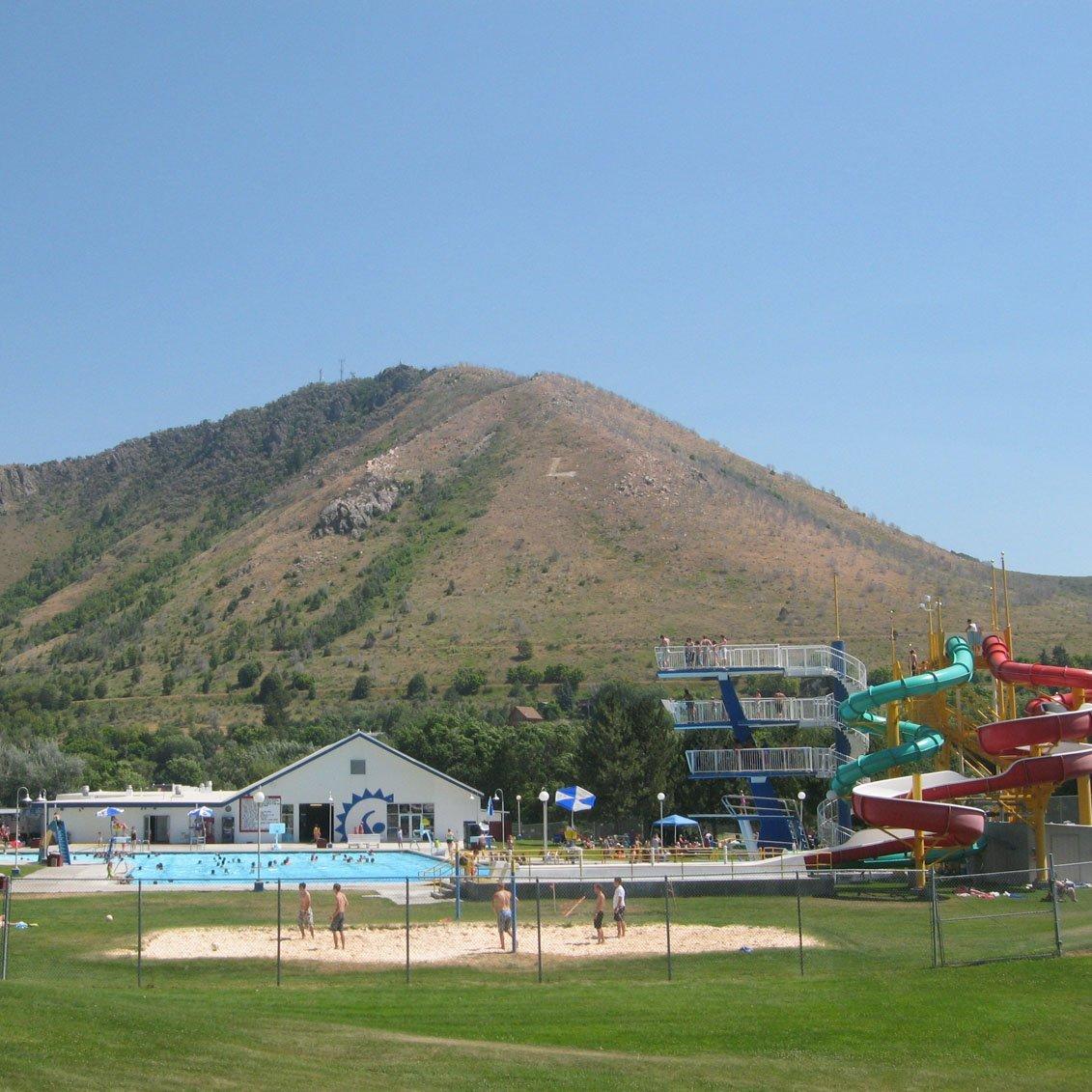 Lava Hot Springs Water Park