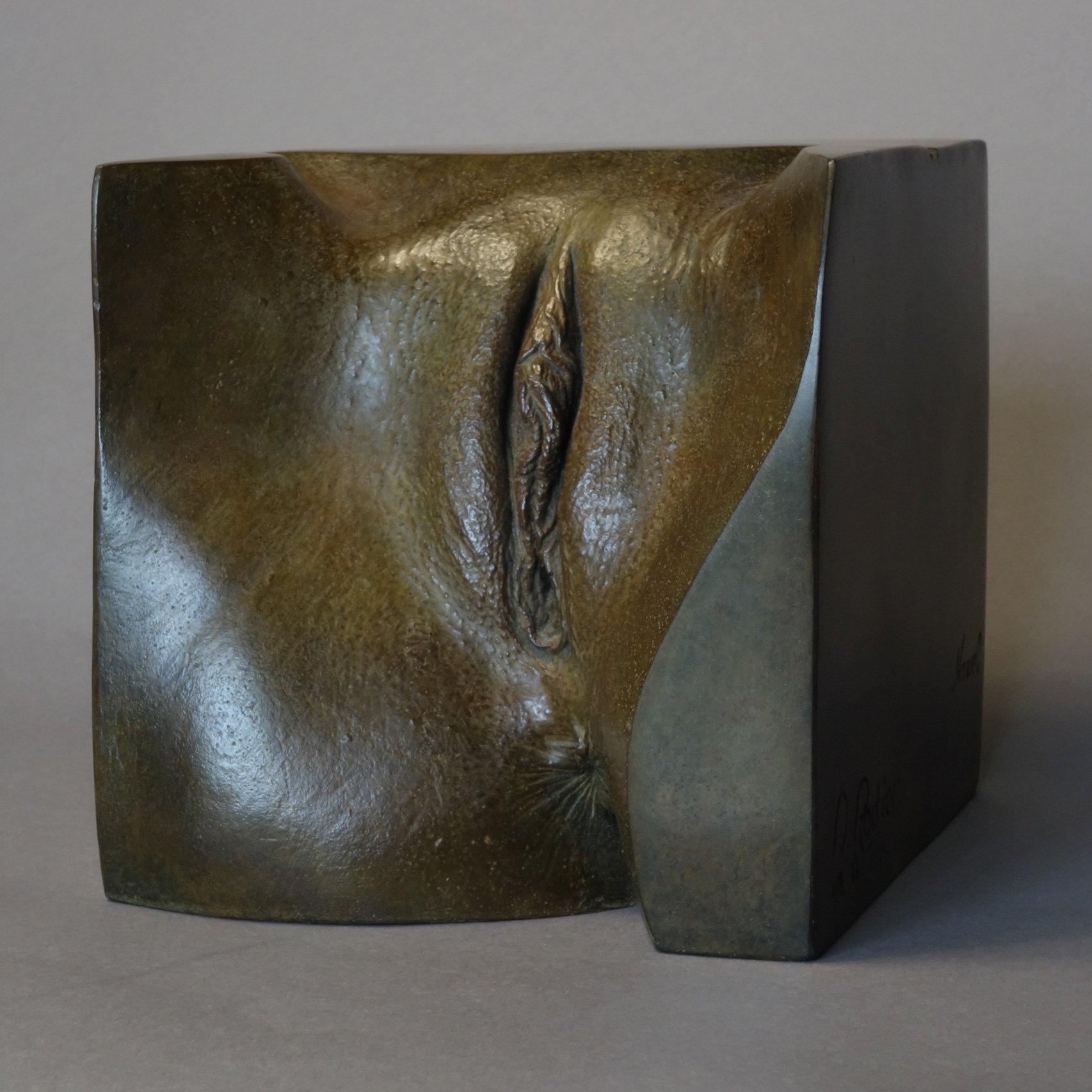statuary, bronze, nude, nude expressionist, nude