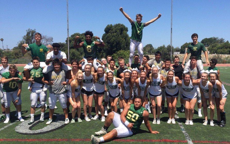 VARSITY SPIRIT RALLY with Cheerleaders