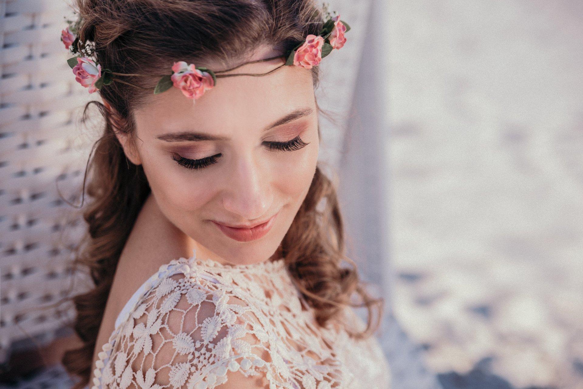 Brautfrisur make up kiel