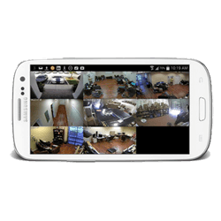 teléfono visor cámara