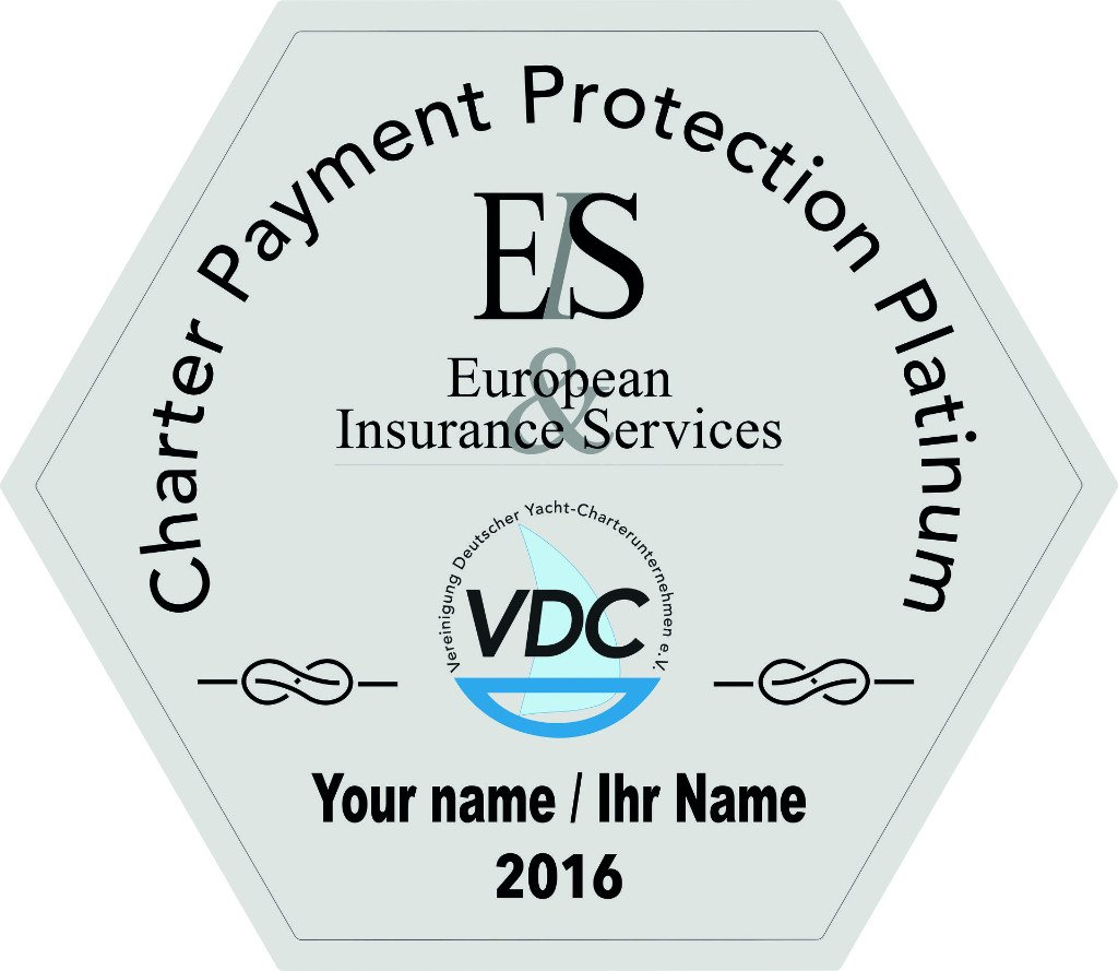 VDC Chartersiegel Platinum