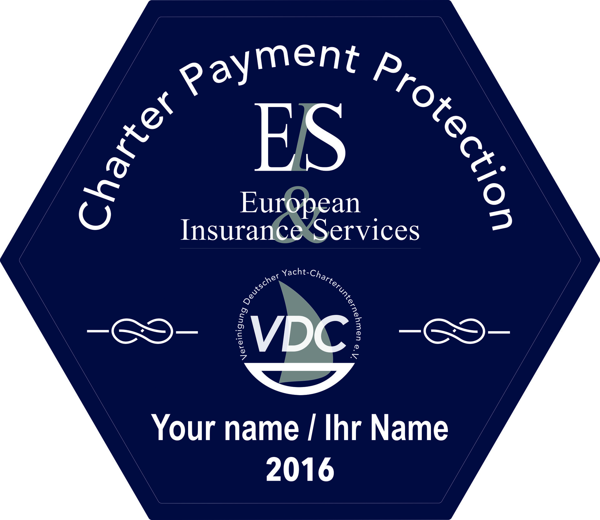 VDC Chartersiegel Classic