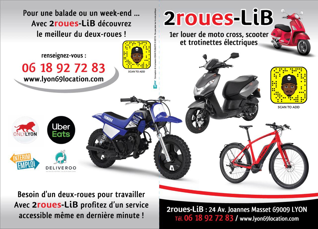 2 Roues 69 Location De Scooter Moto Et Trottinette Electrique