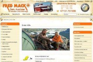 Onlineshop Fred Mack Dein Ausrüster