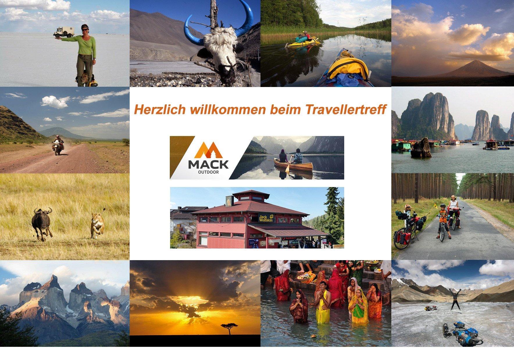 Travellertreff bei Fred Mack Dein Ausrüster
