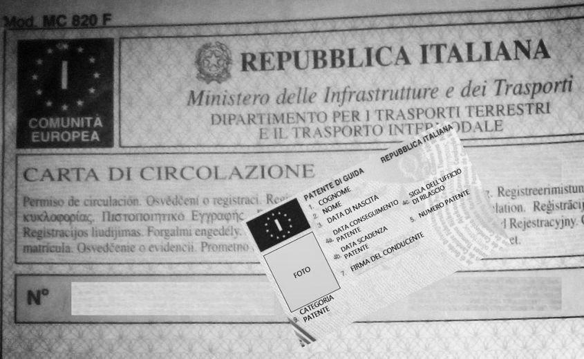 duplicato carta di circolazione