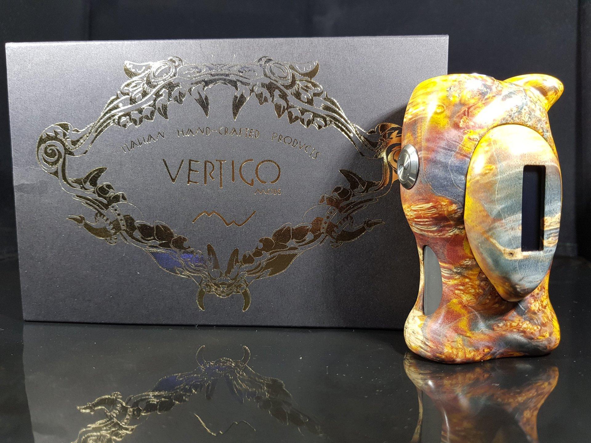 Vertigo Mods Italian Handmade Stabilized Wood Mods
