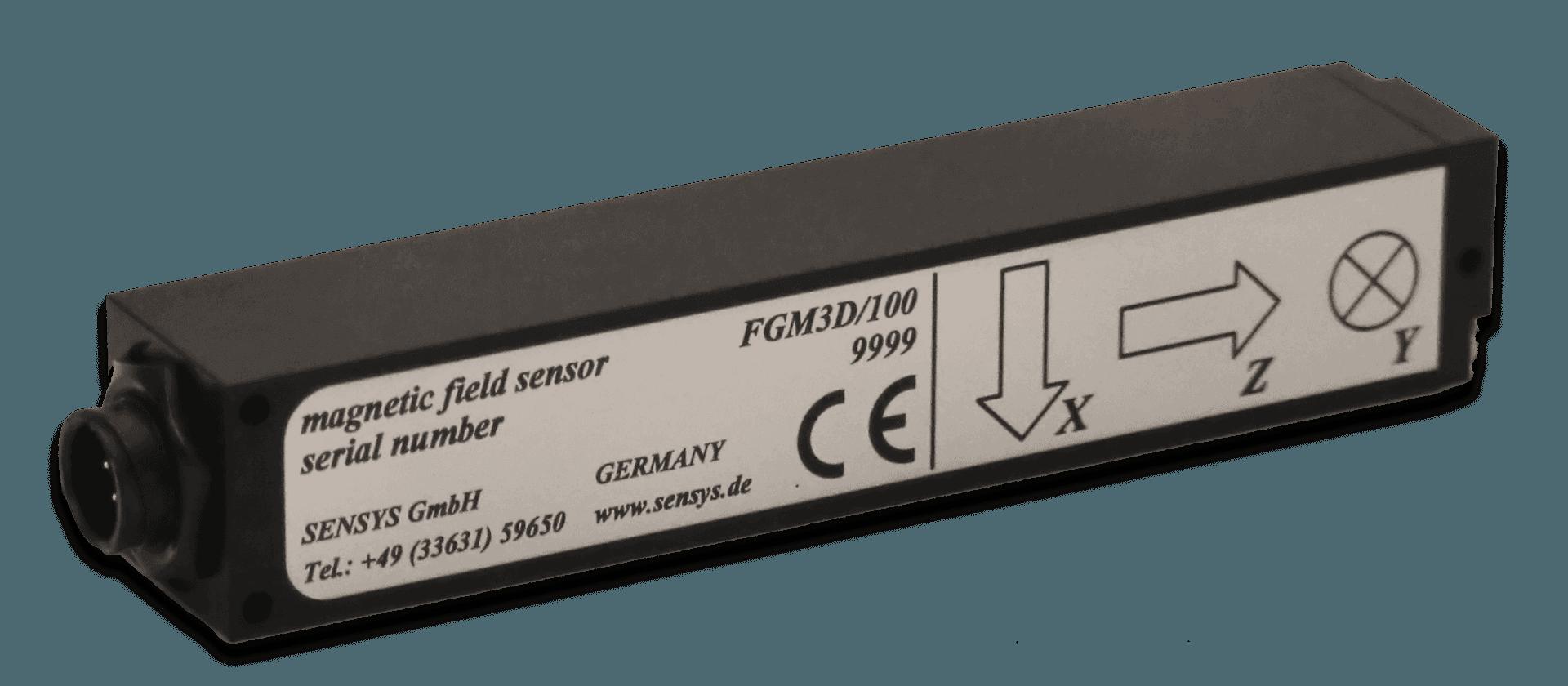 Fluxgate magnetometer sensors