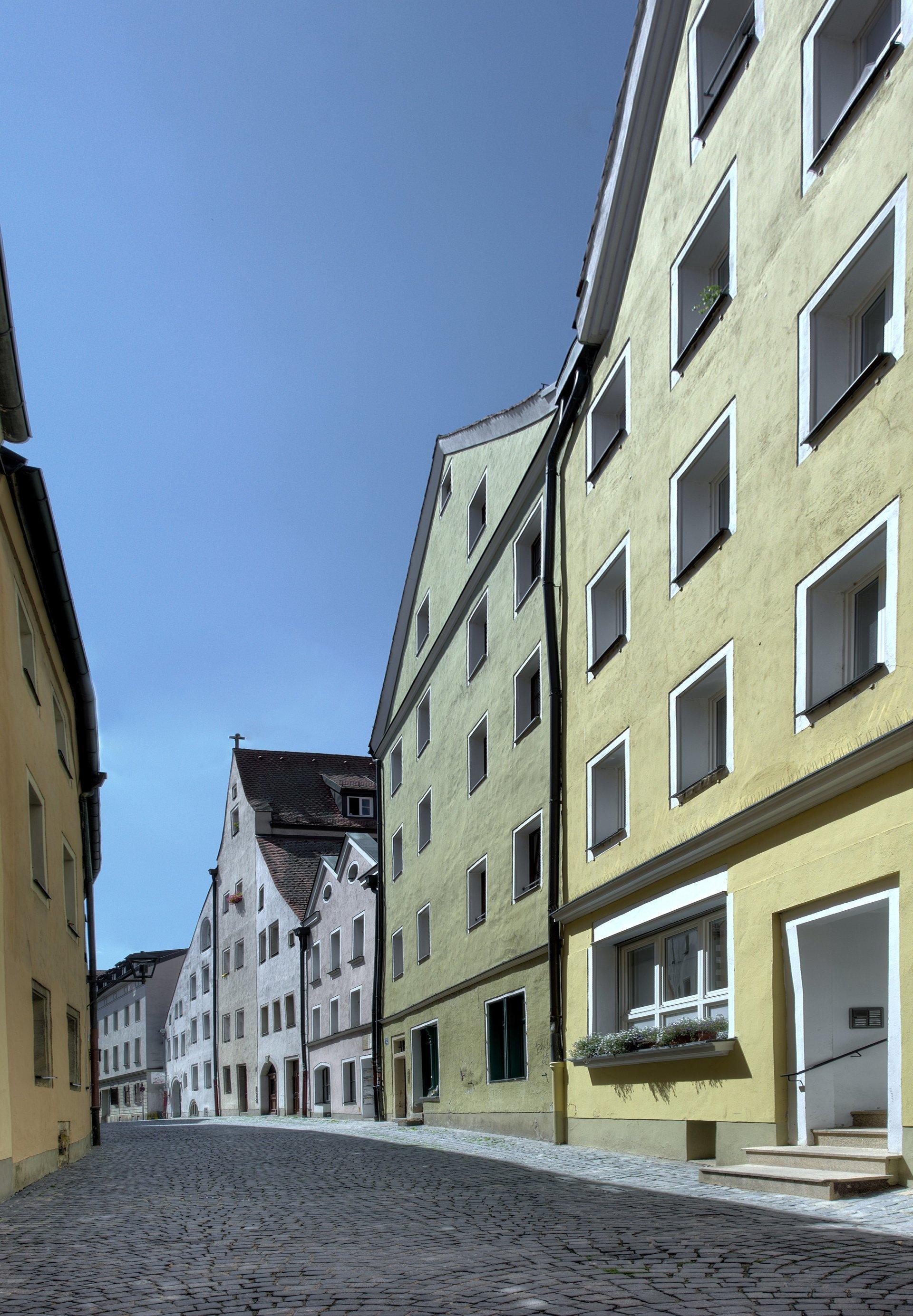 Engelburgergasse, Regensburg, Bayern, Deutschland